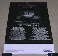 STONER DOOM METAL ~ SAINT VITUS ~ WINO ~ OBSESSED ~ LILLIE F-65 ~ TOUR POSTER