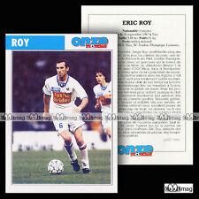 ROY ERIC (OL, OLYMPIQUE LYONNAIS) - Fiche Football 1995