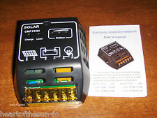 Solar charge controller regulator 12/24 V 10 amp 17 V - 38 V INPUT solar panels