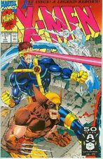 X-Men (2nd series) # 1 (Wolverine and Cyclops cover, Jim Lee) (USA, 1991)