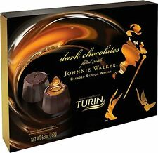 Johnnie Walker Chocolates made by Turin Chocolatier   { Cont. 6.3Oz///180grams }
