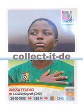 Panini Frauen WM World Cup 2015  - Sticker 226 - Raissa Feudjio