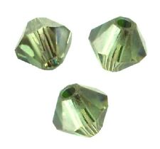 20 Perles Toupies 4mm Cristal Swarovski - ERINITE SATIN