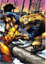 WOLVERINE - 1995 Marvel Masterpieces Parallel Signature EMOTION card # 113 RARE