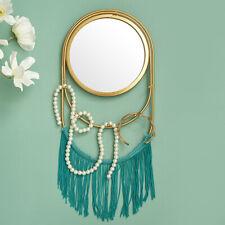 Nordic Luxury Tassel Wall-mounted Mirror DIY Hanging Home Living Room Decor
