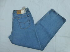 NWD VINTAGE JUNIORS LEVIS 565 LOOSE FIT WIDE LEG JEANS SIZE 15x32