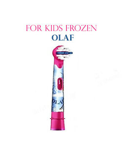 FROZEN OLAF ORAL-B BRAUN STAGES POWER  TOOTHBRUSH REPLACEMENT HEADS FOR KIDS