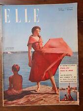 ►ELLE 187/1949 - MICHELINE PRESLE - ZIZI JEANMAIRE -   MODE FASHION VINTAGE