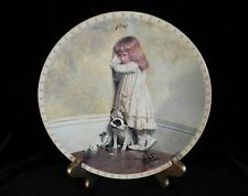 A Victorian Childhood The Original In Disgrace Plate Royal Doulton 1991