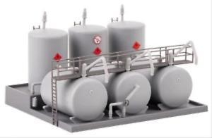 Faller 131387 HO Gauge Oil Facility Hobby Kit