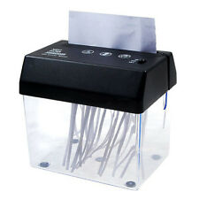 Trituradora de papel Plegado A5 o A4 escritorio Mini USB pequeno Para el hogar /