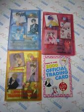 Hana to Yume 2000 Trading Card Full Set With Album & Official Guide Book USED