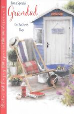 SPECIAL GRANDAD FATHERS DAY CARD**GARDEN SHED, GARDENING**9 X 6 INCHES*** (X2)