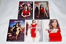 The Good Wife Seasons 1-5, 1 2 3 4 5, Dvd, CBS, New & Sealed with Slipcovers!