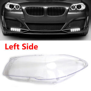 Clear For BMW 5 Series F10 F18 Cover Lens Headlight Left Hand 550i 2010-2013
