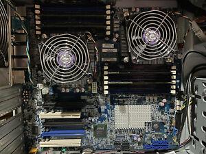Genuine Lenovo MOTHERBOARD THINKSTATION D20 2x intel Xeon E5640 2.67GHz 32GB RAM