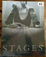 Britney Spears STAGES Book & DVD - Still in plastic