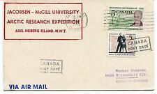 Jacobsen McGill University Arctic Research Expedition Alex Heiberg I Polar Cover