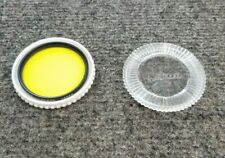 Nikon Y48 52mm Yellow Glass Lens Filter Made In Japan