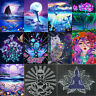 5D DIY Diamond Painting Full Drill Dolphin Embroidery Mosaic Cross Stitch Kits