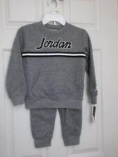 Jordan Little Boys 2-Pc Sweatshirt & Jogger Pants Set Size 4 New With Tags MSRP