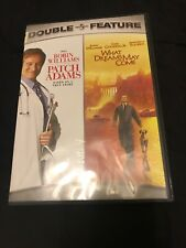 Patch Adams/What Dreams May Come-Double Feature (Dvd, 2007) Very Good Condition