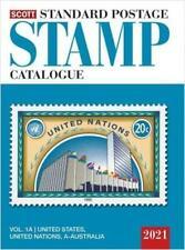 New 2021 Scott Standard Postage Stamp Catalog Vol 1 A+B Us Un & Countries A-B