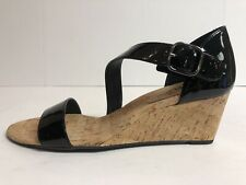 Vaneli Women's Marisa Black Sandal Size 10 Narrow 251235