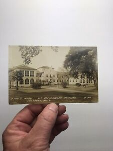 ANTIQUE VINTAGE F AND L WARD HOSPITAL GULFPORT, MISS. RPPC REAL PHOTO POSTCARD