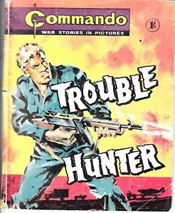 COMMANDO COMIC - No 378   TROUBLE HUNTER