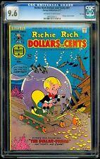 Richie Rich Dollars and Cents #81 Harvey CGC 9.6 Sep-77 – Underwater Excavator