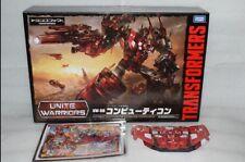 Transformers Takara Tomy UW08 Unite Warriors UW-08 Computron Figure in stock