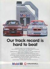 Mobil 1 Oil Vauxhall Magazine Advert #2163
