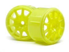 NEW HPI Micro RS4 Method Rallycross Wheel Yellow (4Pieces) 113089