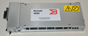 IBM Bladecenter Brocade 4GBs 6-port Fibre Channel Module with 3xGBICs - 32R1821