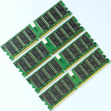 4GB KIT 4x1GB PC3200 DDR400 Low-Density MEMORY 400mhz 184pin desktop ram 4G NEW