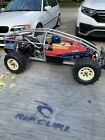 Kyosho Vanning 3058 vintage rc car 1/8 nitro With Lots Of Spares And Acceso
