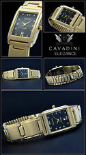 Original Noble Ladies Cavadini Watch Hard Gold Plated Elegant & Dream Haft