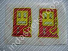 Custom Sticker Aufkleber für Lego Fabuland Set 3666 und 344 Tankstelle Zapfsäule