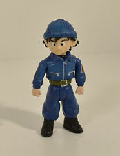 "RARE 2003 Police Gohan 3"" Jakks Action Figure Dragon Ball Z Origins GT"