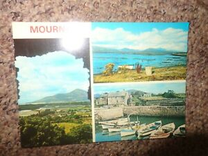 MOURNE MULTIVIEW 1978 co DOWN NORTHERN IRELAND  POSTCARD by SIGNAL SERIES