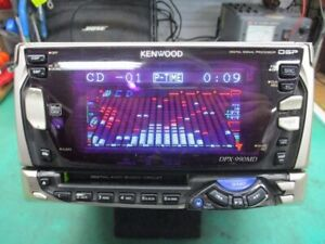 Kenwood DPX-990MD CD MD Radio Deck 2DIN Car Audio Tested Working Good F/S