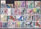F008 - Francobolli Europa Unita CEPT - Annata completa 1967 - Nuovi Mint **