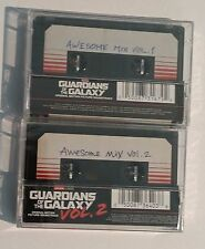 Guardians Of The Galaxy: Awesome Mix Vol 1 & 2 SOUNDTRACK New 2 Cassette Bundle