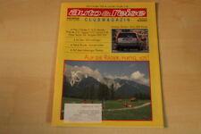 71939) Opel Vectra A V6 - Jaguar V 12 - Auto + Reise 05/1993