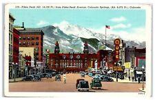 1946 Pikes Peak Avenue, Hotel Arrow, Antler Hotel, Colorado Springs, CO Postcard