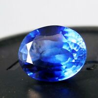 Natural IGI Certified Precious Oval Blue Ceylon Sapphire 12 Ct Loose Gemstone