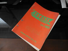OEM Yamaha 1973 RD60 Parts List Folder Cover LIT-10013-88-00