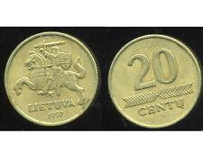 LITUANIE 20  centu 1997  ( bis )