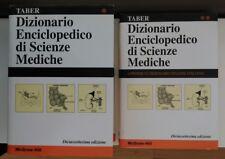 TABER DIZIONARIO ENCICLOPEDICO DI SCIENZE MEDICHE CON APPENDICE ITALIANO-INGLESE